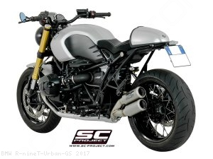 CR-T Exhaust by SC-Project BMW / R nineT Urban GS / 2017