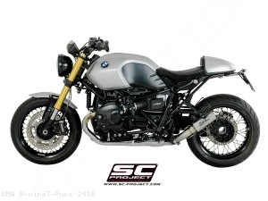 CR-T Exhaust by SC-Project BMW / R nineT Pure / 2018