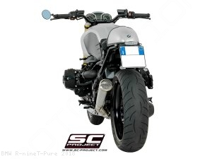 "Conic ""70s Style"" Exhaust by SC-Project BMW / R nineT Pure / 2018"