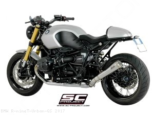 "Conic ""70s Style"" Exhaust by SC-Project BMW / R nineT Urban GS / 2017"