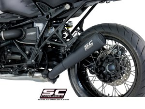 "Black Edition Conic ""70s Style"" Exhaust by SC-Project"
