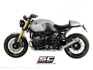 "Conic ""70s Style"" Exhaust by SC-Project BMW / R nineT Urban GS / 2018"
