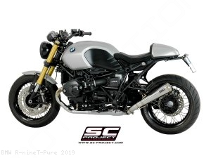 "Conic ""70s Style"" Exhaust by SC-Project BMW / R nineT Pure / 2019"