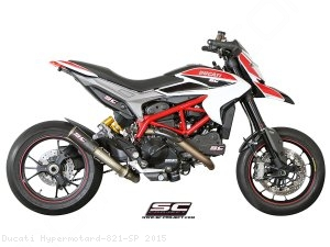 CR-T Exhaust by SC-Project Ducati / Hypermotard 821 SP / 2015