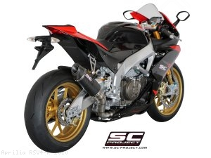 Race Oval Exhaust by SC-Project Aprilia / RSV4 R / 2010