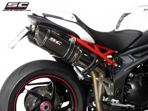 Dual High Mount Oval Exhaust by SC-Project