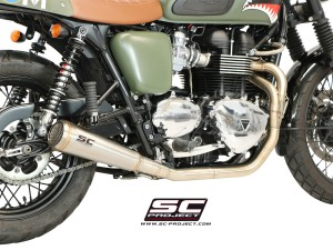 Full System 2-1 Conic 70s Style Exhaust by SC-Project