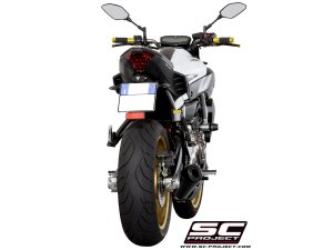 Matte Black Conic 2-1 Full System Exhaust by SC-Project