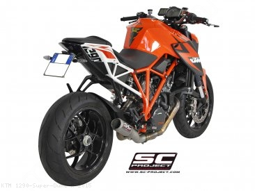 CR-T De-Cat Exhaust by SC-Project KTM / 1290 Super Duke R / 2015