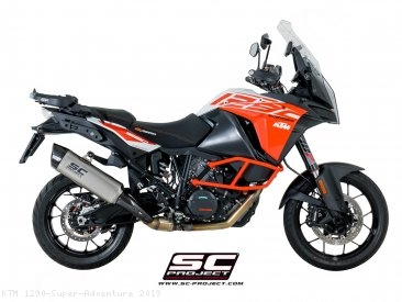 """Adventure"" Exhaust by SC-Project KTM / 1290 Super Adventure / 2019"