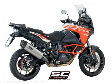 """Adventure"" Exhaust by SC-Project KTM / 1290 Super Adventure / 2015"