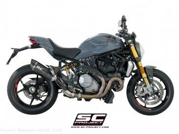 Oval Exhaust by SC-Project Ducati / Monster 1200S / 2018