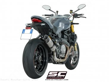 Oval Exhaust by SC-Project Ducati / Monster 1200S / 2019
