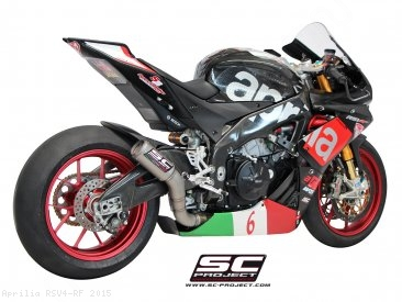 CR-T Exhaust by SC-Project Aprilia / RSV4 RF / 2015