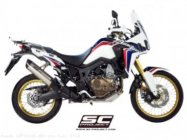 Oval Exhaust by SC-Project Honda / CRF1000L Africa Twin / 2018