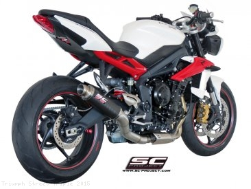 GP M2 Exhaust by SC-Project Triumph / Street Triple / 2015