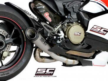 S1 Exhaust by SC-Project Ducati / 1199 Panigale S / 2012