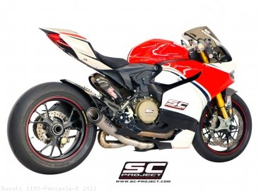 S1 Exhaust by SC-Project Ducati / 1199 Panigale R / 2013