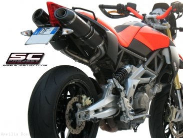 Oval Exhaust by SC-Project Aprilia / Dorsoduro 750 / 2008