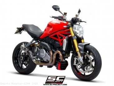 CR-T Exhaust by SC-Project Ducati / Monster 1200 / 2018