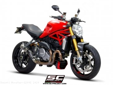 CR-T Exhaust by SC-Project Ducati / Monster 1200S / 2020