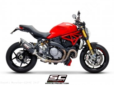 SC1-R Exhaust by SC-Project Ducati / Monster 1200S / 2017