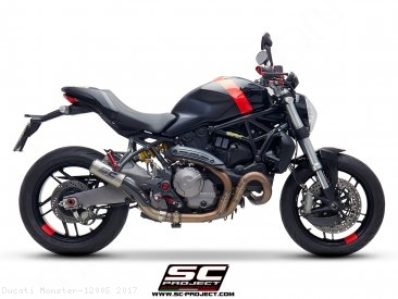 CR-T Exhaust by SC-Project Ducati / Monster 1200S / 2017