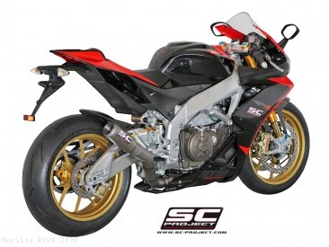 CR-T Exhaust by SC-Project Aprilia / RSV4 / 2009