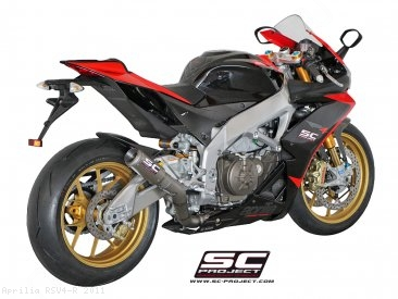CR-T Exhaust by SC-Project Aprilia / RSV4 R / 2011