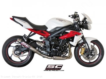 GP M2 Exhaust by SC-Project Triumph / Street Triple RX / 2015
