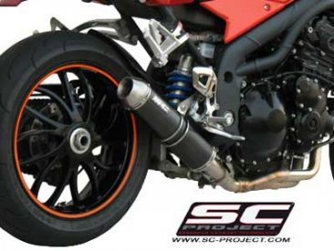 Triumph Speed Triple Low Mount GP-EVO Exhaust
