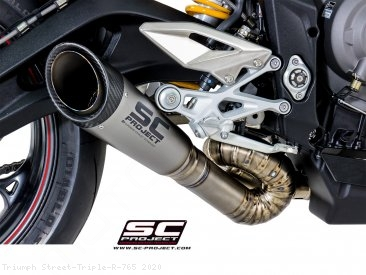 S1 Exhaust by SC-Project Triumph / Street Triple R 765 / 2020