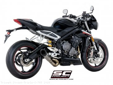 S1 Exhaust by SC-Project Triumph / Street Triple S 765 / 2019