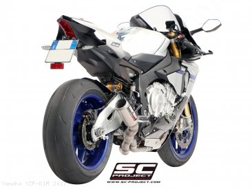 CR-T Exhaust by SC-Project Yamaha / YZF-R1M / 2017