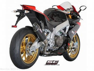 Oval Exhaust by SC-Project Aprilia / RSV4 R APRC / 2013