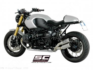CR-T Exhaust by SC-Project BMW / R nineT Racer / 2016