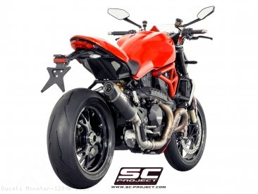 Oval Exhaust by SC-Project Ducati / Monster 1200R / 2016