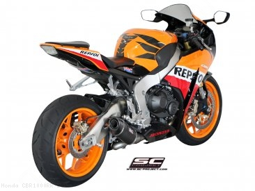 Oval Exhaust by SC-Project Honda / CBR1000RR / 2013