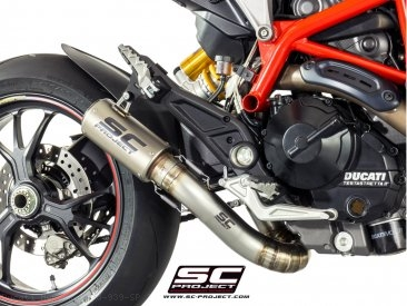CR-T Exhaust by SC-Project Ducati / Hypermotard 939 SP / 2018