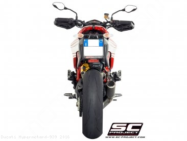 CR-T Exhaust by SC-Project Ducati / Hypermotard 939 / 2016