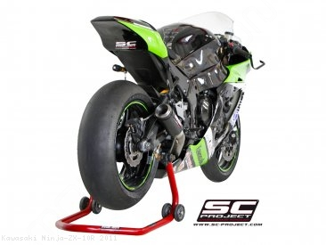 CR-T Exhaust by SC-Project Kawasaki / Ninja ZX-10R / 2011