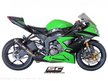 GP M2 Exhaust by SC-Project Kawasaki / Ninja ZX-6R 636 / 2017