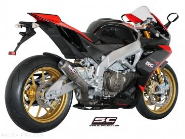 CR-T Exhaust by SC-Project Aprilia / RSV4 / 2014