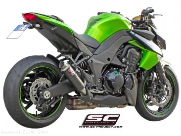 GP M2 Exhaust by SC-Project Kawasaki / Z1000 / 2010