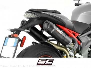 GP-Tech Exhaust by SC-Project Triumph / Speed Triple R / 2016