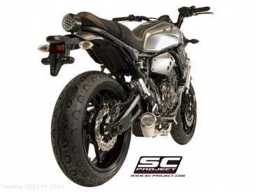 "Conic ""70s Style"" Exhaust by SC-Project Yamaha / XSR700 / 2020"