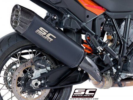 "Black Titanium ""Adventure"" Exhaust by SC-Project"