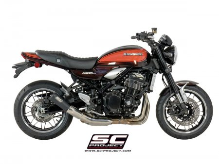 Black Stainless Steel S1-GP Exhaust by SC-Project