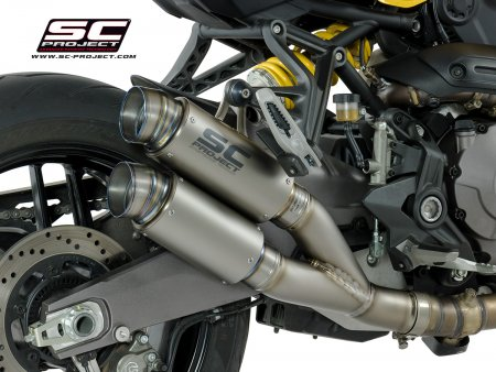 Dual GP70-R Exhaust by SC-Project