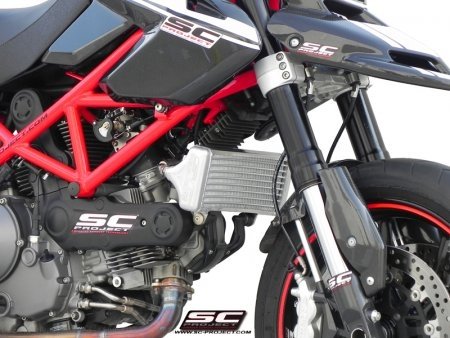 Oil Cooler By SC-Project Ducati / Hypermotard 1100 EVO SP / 2012